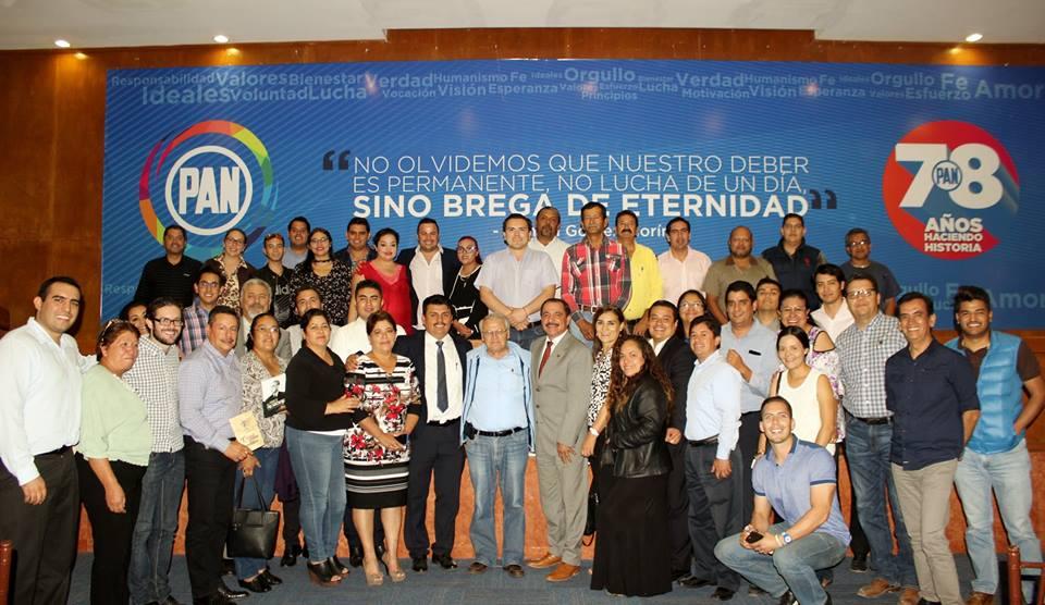 Son los panistas quienes deben abanderar causas ciudadanas: Rodríguez Prats