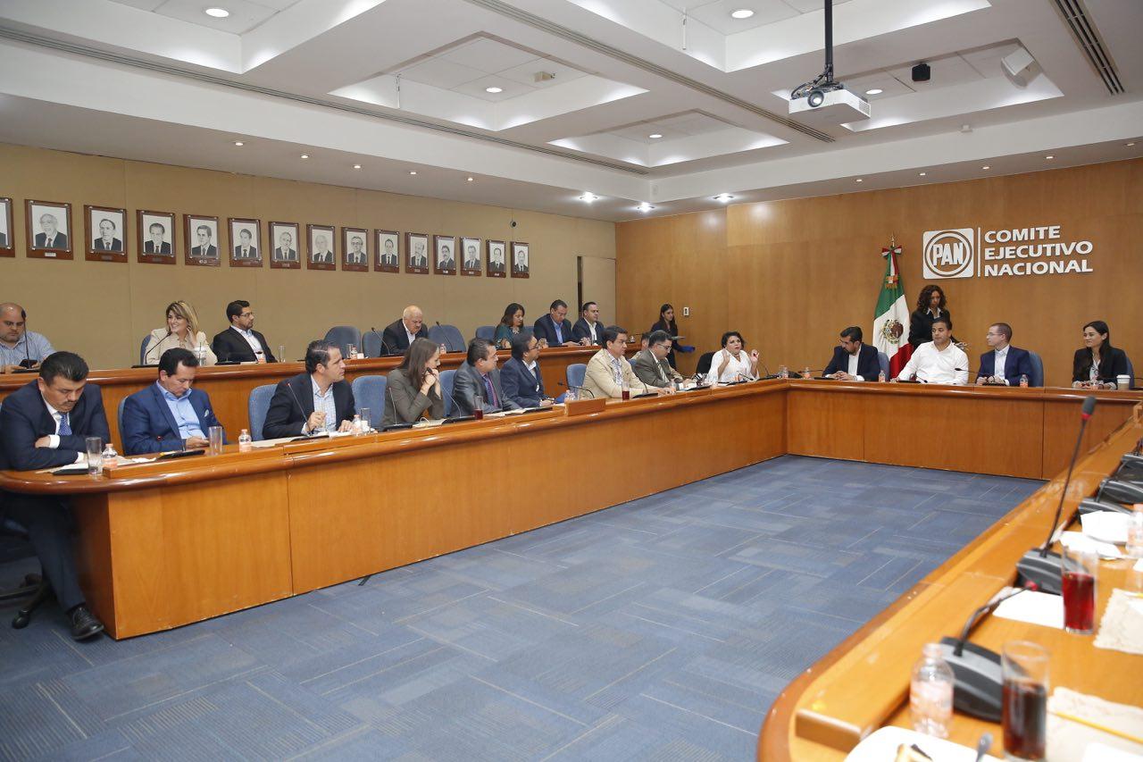 Dirigentes estales del PAN respaldamos lucha contra impunidad: Lorenzo Martínez