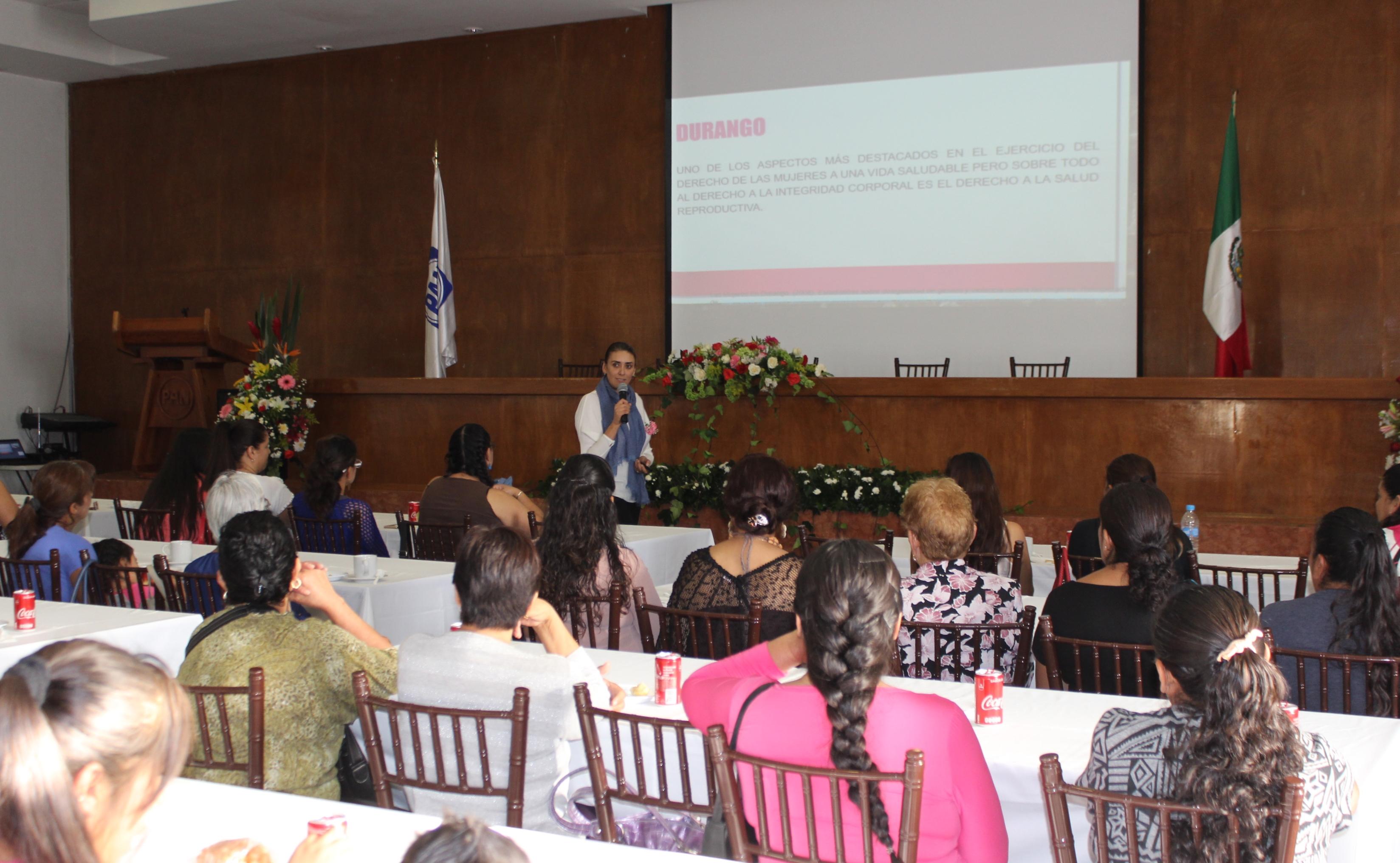 Acción Nacional pondera agenda de género para desarrollo de la sociedad