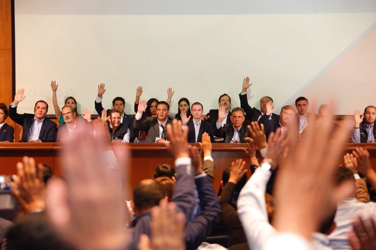 Aprueba Consejo Nacional PAN suscribir coalición electoral con integrantes del Frente Ciudadano por México