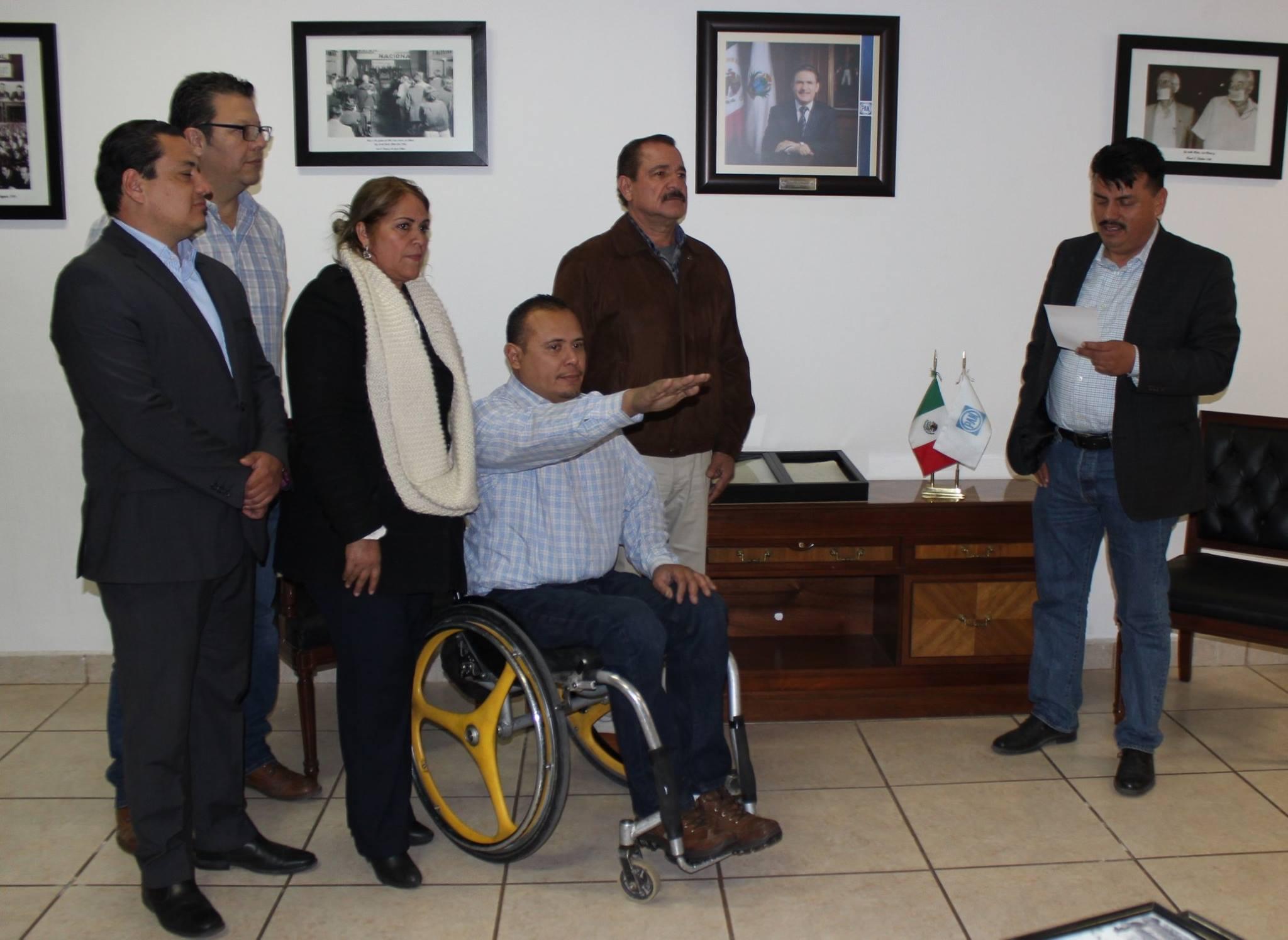Necesaria inclusión de personas con discapacidad: Lorenzo Martínez