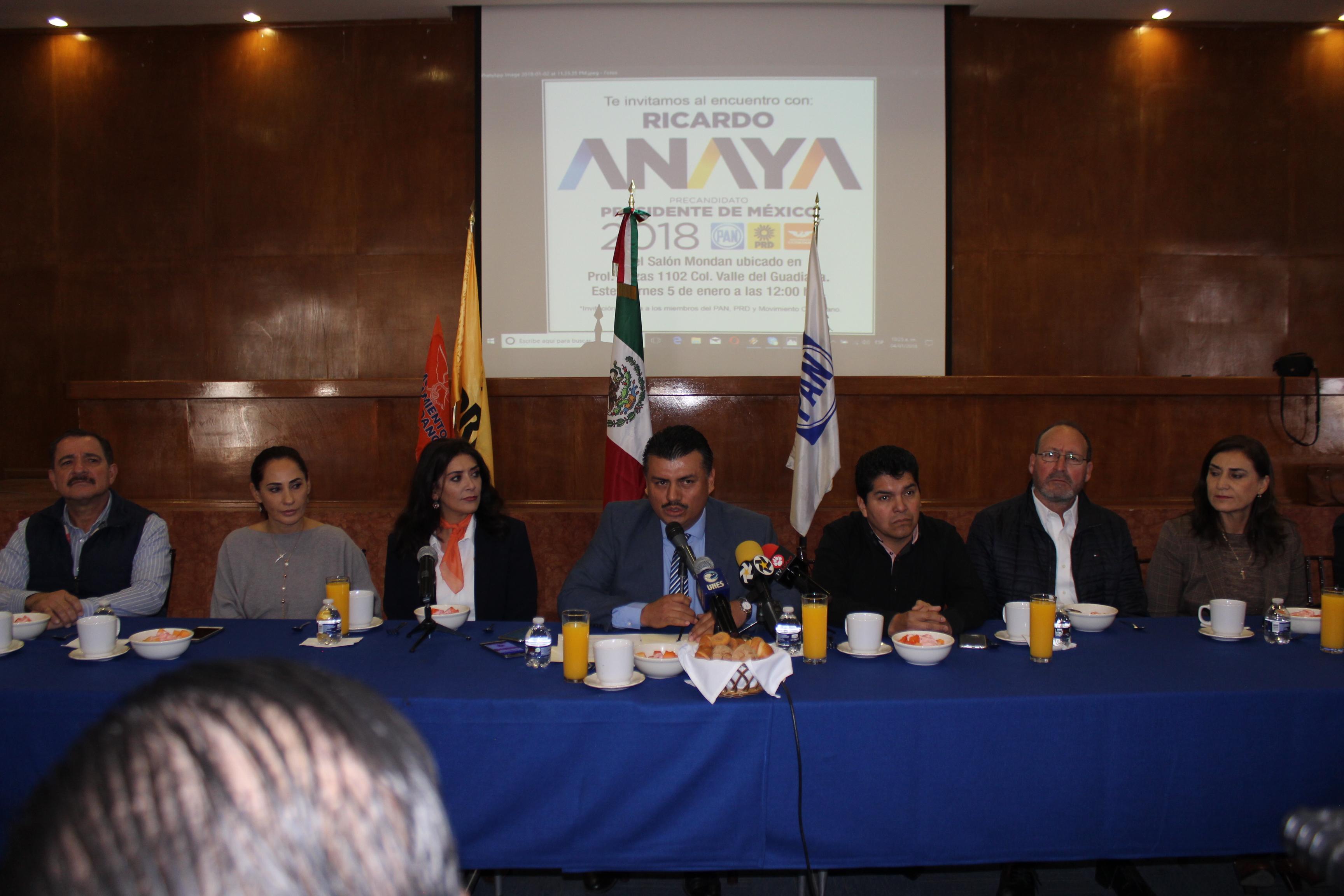 Ricardo Anaya este viernes en Durango
