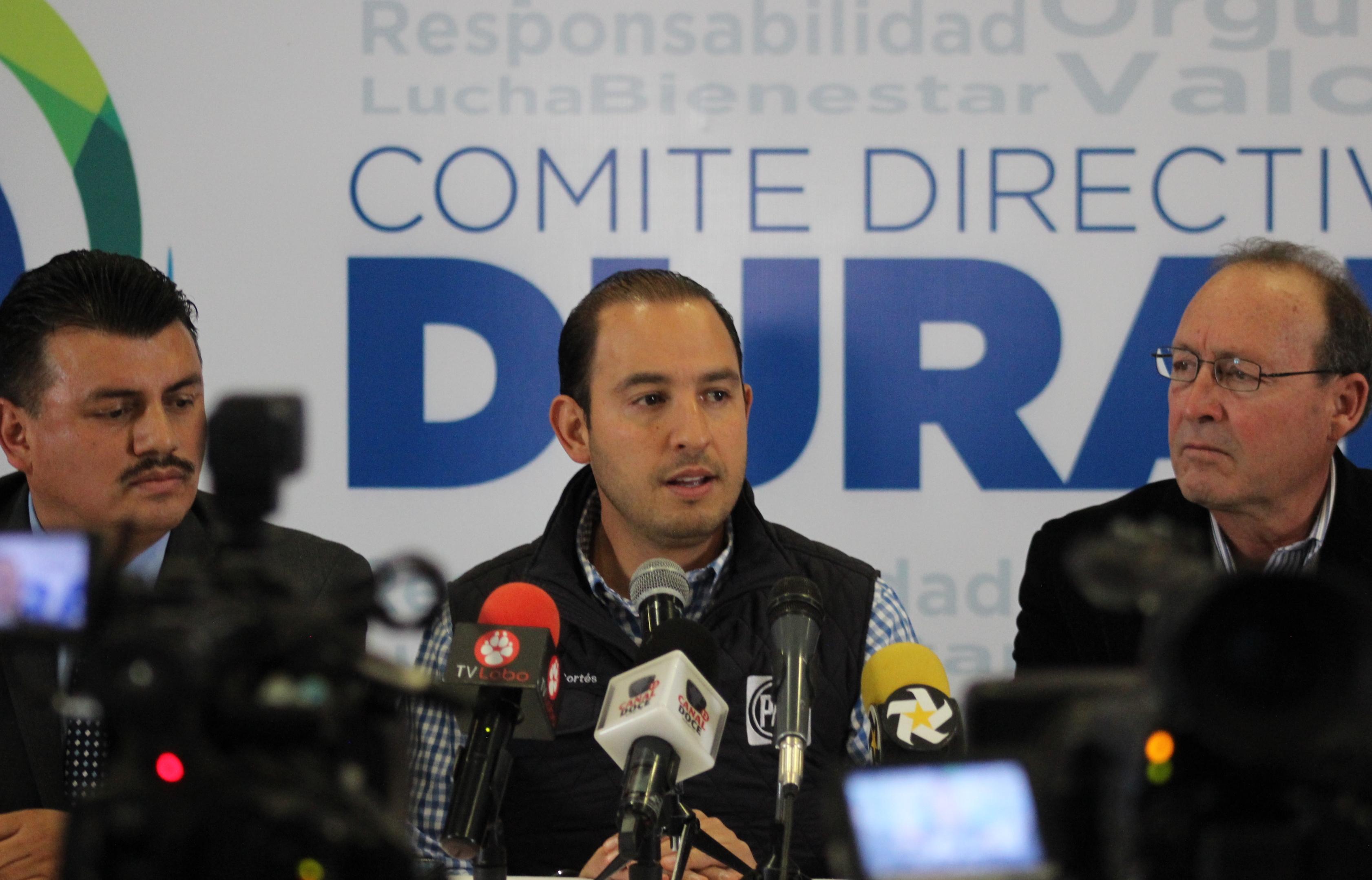 Meade ya le falló a México desde la SHCP: Marko Cortés