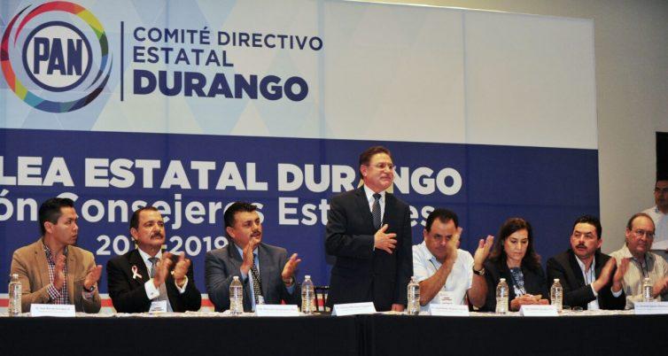 Reconoce Acción Nacional evaluación positiva para Aispuro Torres