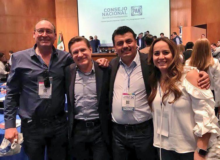 Ricardo Anaya cuenta con el respaldo absoluto de Acción Nacional