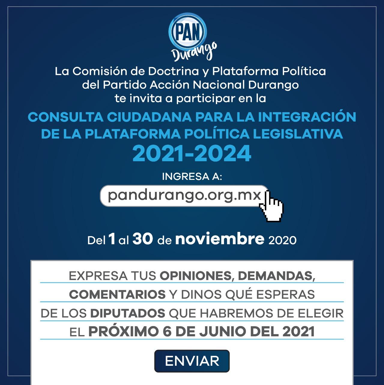 Consulta Ciudadana Para La Integración De La Plataforma Política Legislativa