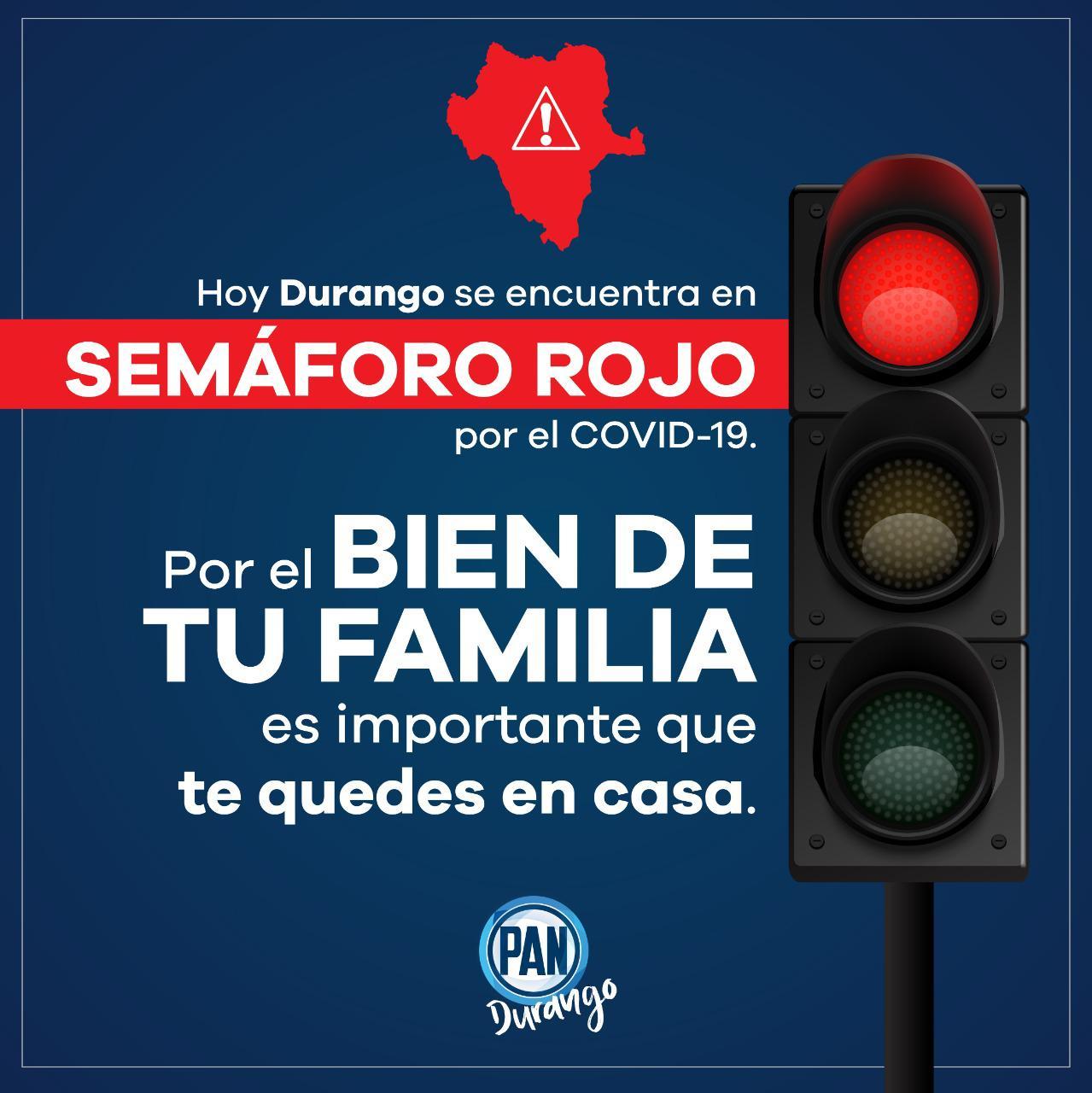 Durango En Semáforo Rojo