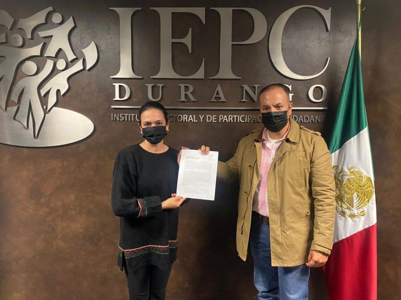 PAN Durango presenta queja ante el IEPC Durango contra Gonzalo Yáñez