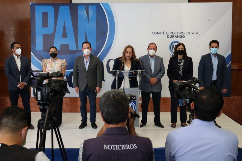 Las y los Diputados de Acción Nacional lucharemos desde cada trinchera para mantener el estado de Derecho.